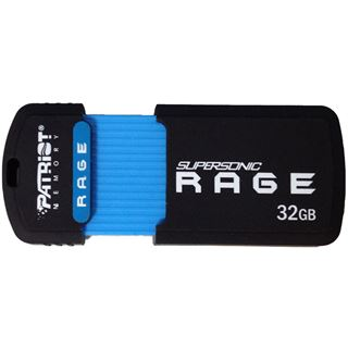 32 GB Patriot Supersonic Rage XT schwarz/blau USB 3.0