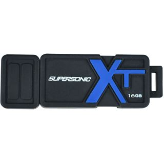 16 GB Patriot Supersonic Boost XT schwarz/blau USB 3.0