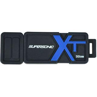 32 GB Patriot Supersonic Boost XT schwarz/blau USB 3.0