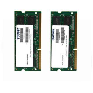 16GB Patriot Mac Series DDR3-1333 SO-DIMM CL9 Dual Kit