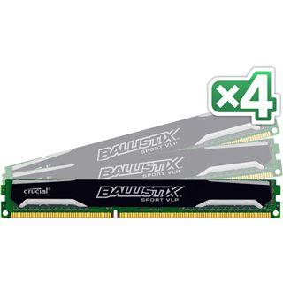 16GB Crucial Ballistix Sport VLP DDR3-1600 DIMM CL9 Quad Kit