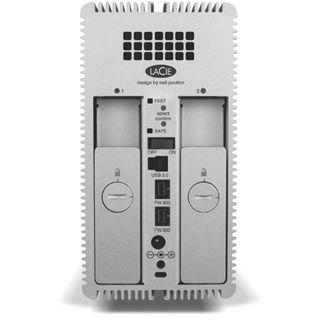 "8000GB LaCie 2big 9000317 3.5"" (8.9cm) USB 3.0/Firewire silber Alu"