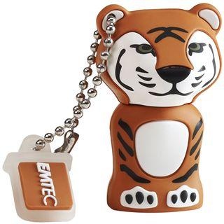8 GB EMTEC Die Dschungel Animals Tiger Figur USB 2.0