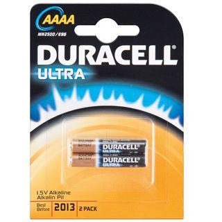 Duracell Ultra AAAA / Mini Alkaline 1.5 V 2er Pack