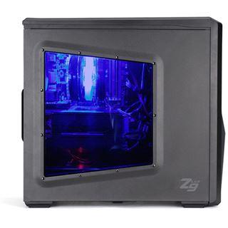 Zalman Z9 USB3.0 mit Sichtfenster Midi Tower ohne Netzteil schwarz