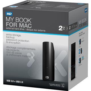 "2000GB WD My Book for Mac WDBEKS0020HBK-EESN 3.5"" (8.9cm) USB 3.0 schwarz"