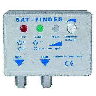 0.20m SAT Finder mit Signalton digital