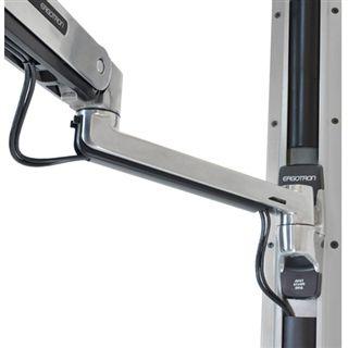 Ergotron LX Sit-Stand Keyboard Arm Wandhalterung für Tastatur und Maus (45-354-026)