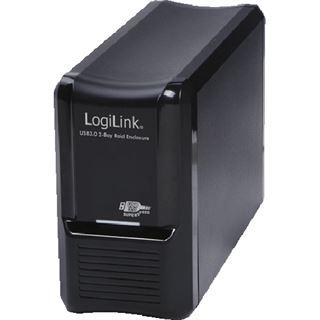 """LogiLink Bay RAID 3.5"""" (8,89cm) USB 3.0 schwarz"""