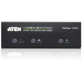 ATEN Technology VS0201 2-fach VGA-A/V-Splitter
