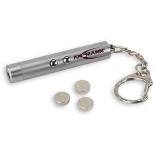 Ansmann Schlüsselring Laserpointer 2in1