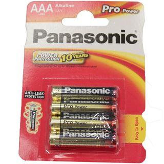Panasonic Pro Power LR03 Alkaline AAA Micro Batterie 1.5 V 4er Pack