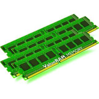 32GB Kingston ValueRAM Intel DDR3-1333 regECC DIMM CL9 Quad Kit