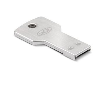 16 GB LaCie PetiteKey silber USB 2.0