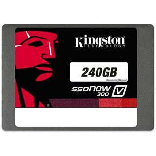 "240GB Kingston SSDNow V300 Upgrade Kit 2.5"" (6.4cm) SATA 6Gb/s MLC asynchron (SV300S3B7A/240G)"