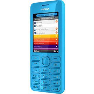 Nokia 206 Dual SIM 64 MB cyan