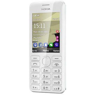 Nokia 206 Dual SIM 64 MB weiß