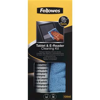 (€5,89*/100ml) Fellowes GmbH Tablet Reinigungskit 120ml Pumpspray (9930501)