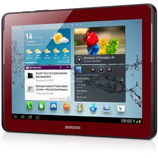 """10.1"""" (25,65cm) Samsung Galaxy Tab 2 10.1 3G/WiFi/Bluetooth V3.0 16GB rot"""