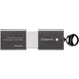 64 GB Kingston DataTraveler Ultimate 3.0 silber USB 3.0