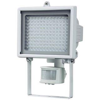 Brennenstuhl LED-Wandstrahler L130PIR IP44, weiss mit Bewegungsmelder, 560lm