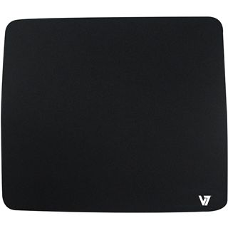 V7 Mauspad 230 mm x 200 mm schwarz