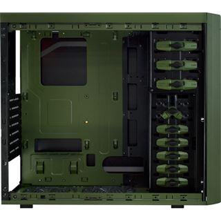 Cougar Solution AF-2 Midi Tower ohne Netzteil schwarz/gruen