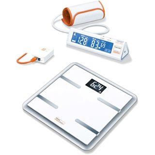 Beurer BM90+BG900 Blutdruckmessgerät+Waage