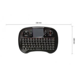 Xebec Tech HTPC Wireless Keyboard Deutsch schwarz (kabellos)