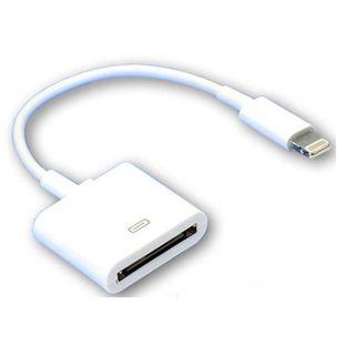 0.20m Good Connections iPhone Adapterkabel iPod-Stecker auf Lightning Buchse Weiß