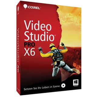 Corel VideoStudio Pro X6 32/64 Bit Englisch Videosoftware Vollversion PC (DVD)