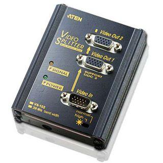 ATEN Technology VS102 2-fach VGA-Grafiksplitter