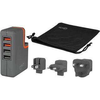 Arctic Charger Pro 4 Ladegerät 4 x USB grau