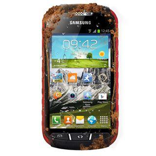 Samsung Galaxy Xcover 2 S7710 4 GB schwarz/rot