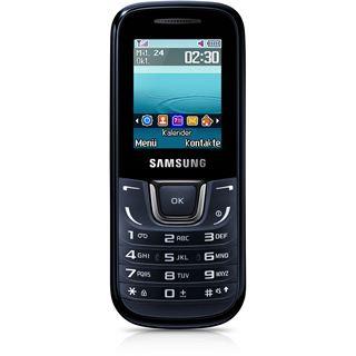 Samsung E1280 64 MB schwarz/blau