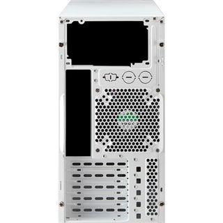 AeroCool QS-200 Midi Tower ohne Netzteil weiss