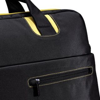 Hama Notebook-Tasche San Francisco 30 cm (11,6) Schwarz/Gelb