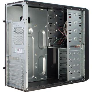 Inter-Tech SY-111 Midi Tower ohne Netzteil schwarz