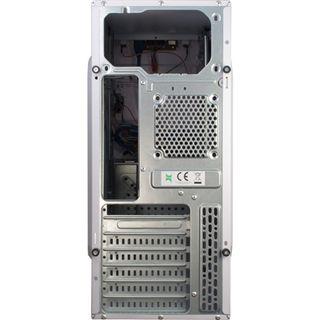 Inter-Tech SY-111 Midi Tower ohne Netzteil weiss