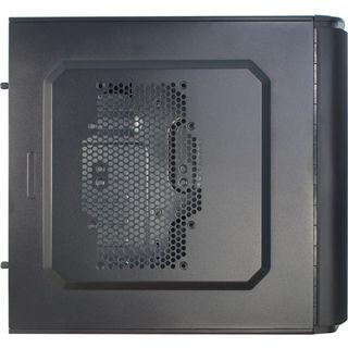 Inter-Tech SY-126 Midi Tower ohne Netzteil schwarz
