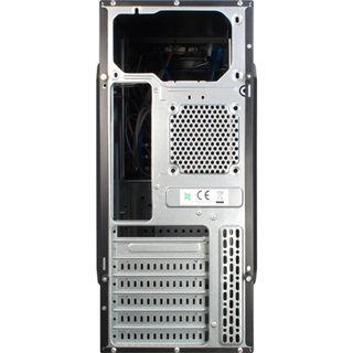 Inter-Tech SY-132 Midi Tower ohne Netzteil schwarz