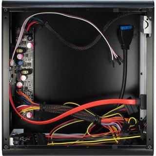 Inter-Tech Mini ITX E-i7 ITX Tower 90 Watt schwarz