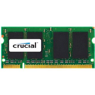 2GB Crucial Memory for Mac DDR3-1066 SO-DIMM CL7 Single