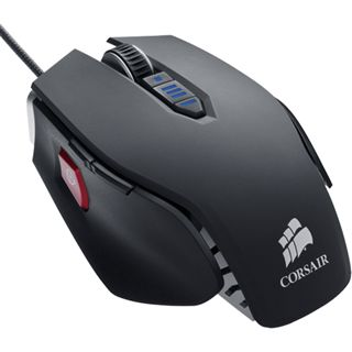 Corsair Vengeance M65 FPS Laser Gaming Mouse Gunmetal USB schwarz (kabelgebunden)