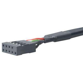 Akasa USB 2.0 Adapter für USB 3.0 (AK-CBUB19-10BK)