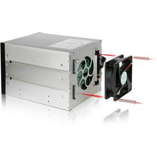 """Icy Dock FlexCage 3x 5,25"""" Wechselrahmen für 4x 3.5"""" Festplatten (MB974SP-2B)"""