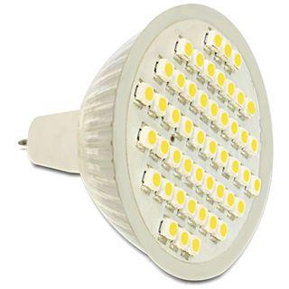 Delock LED Leuchtmittel MR16 48x SMD Warmweiß GU5.3 A