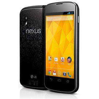 LG Electronics Google Nexus 4 NFC 8 GB schwarz