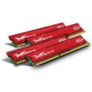 32GB TeamGroup Vulcan Series rot DDR3-1600 DIMM CL9 Quad Kit