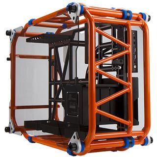 IN WIN D-Frame Midi Tower ohne Netzteil orange